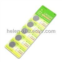 SR SG Alkaline zinc-silver oxide battery cell