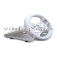 Steering Wheel with Stand for Wii