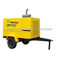 Teweite Diesel Portable Air Compressors