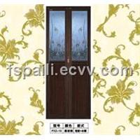 Three-Star Aluminium Small Folding Door (PXZ-13)