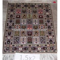 Hand Knotted Pure Silk Rugs