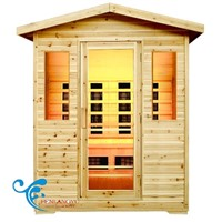Outdoor Infrared Saunas