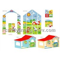 playhouse with garage