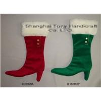 Plush & Stuffed Christmas Boots