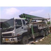 Schwing Concrete Pump