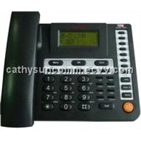 PSTN IP Phone with 1WAN 1LAN 3SIP A/C + PSTN SC-6009P
