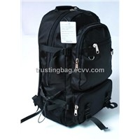 "1680d Black 15"" Laptop Travel Computer Backpack Bag"