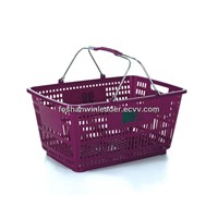 YLD-BSK001 Plastic Shopping Basket