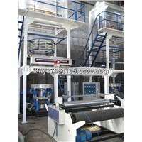 Two-Layer Co-Extrusion Rotary-Die Head Film Blow Machine