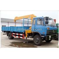 Dongfeng 4*2 Truck Cargo Crane
