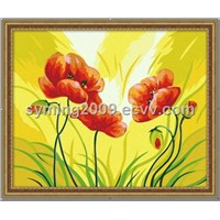Hand Made Oil Painting - Blossoming