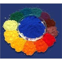 Iron Oxide Red ,Green ,Blue ,Yellow, Brown