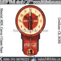 MDF Art Wall Clock