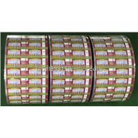 PVC Shrink Film Label Adhesive Sticker