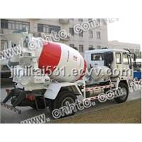 Pre-discharge Mixer Truck