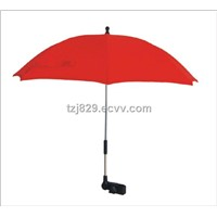 Red Baby Stroller Umbrella