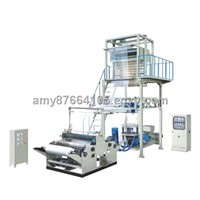 Rotary Die Head Double Winder Film Blowing Machine (SJ-65)
