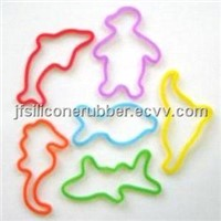 Sea Animal Shaped Rubber Bands