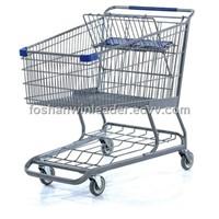 YLD-092-1 250L Metal Shopping Cart