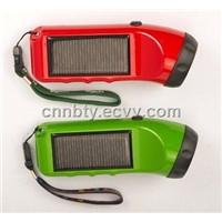 LED Solar Flashlight