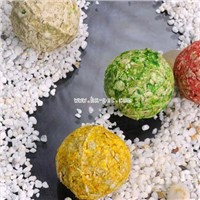 Pet Food: Colored Munchy Ball