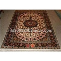 Hand Knotted Persian Silk Carpets
