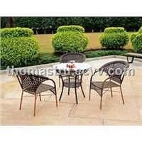Rattan Furniture - Chair & Table