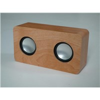 Wooden Portable USB Speaker