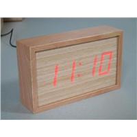 Wooden Time Clock