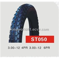 300-12 Motorcycle Tyre