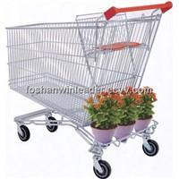 YLD-099-2  240L Wire Shopping Trolley