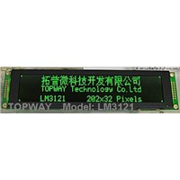 202X32 Graphic LCD Display COB Type LCD Module (LM3121B) with Weighing Scale