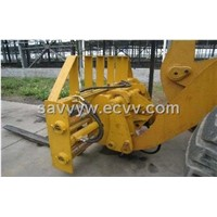 5 Ton Wheel Loader with Fork Lift