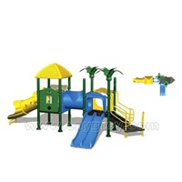 750*400*350cm Outdoor Playground