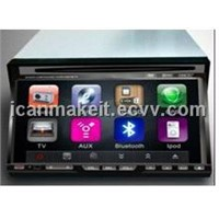 7 Inch Wide Screen 2 DIN Car DVD Player