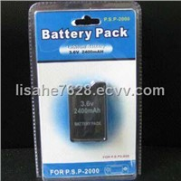 Battery with 3.6V/2400M A Output
