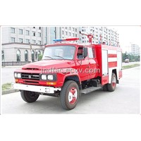 Dongfeng Conventional Cab Water Tank Fire Truck (3.5T)