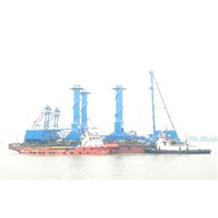 Fleet for Transportation of Fully Erected Cranes