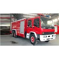 Isuzu Double Axle Foam Fire Fighting Truck (9500L)