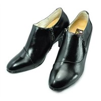 JGL-3089 Ladies' Dress Leather height increasing Shoes