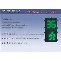 LED Traffic Walkman & Seconds Countdown Pedestrian Signal