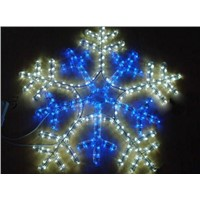 Lighted Christmas Snowflake