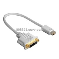 Mini Displayport Male to DVI Cable