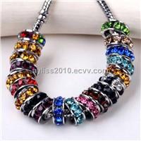 Mixed Crystal Glass Fit Pandora Loose Beads