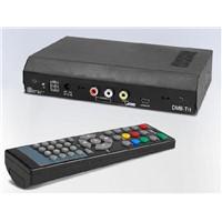 Portable HD Car Digital DVB-T TV Receiver 2 Tuner MPEG4