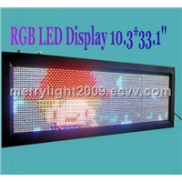 Programmabled LED Moving Sign