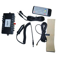 SD Car DVB-T Receiver with MPEG2