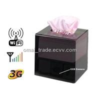 Tissue Box DVR Camera