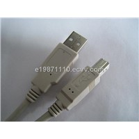 USB A to B Male Cable
