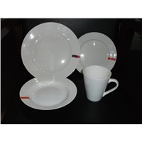 16 pcs Porcelain & Dinnerware